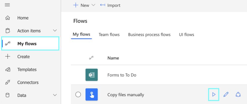 copy files power automate
