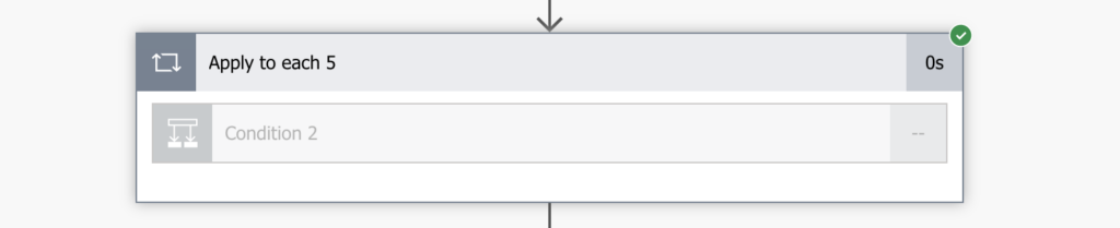 Power Automate grey Condition