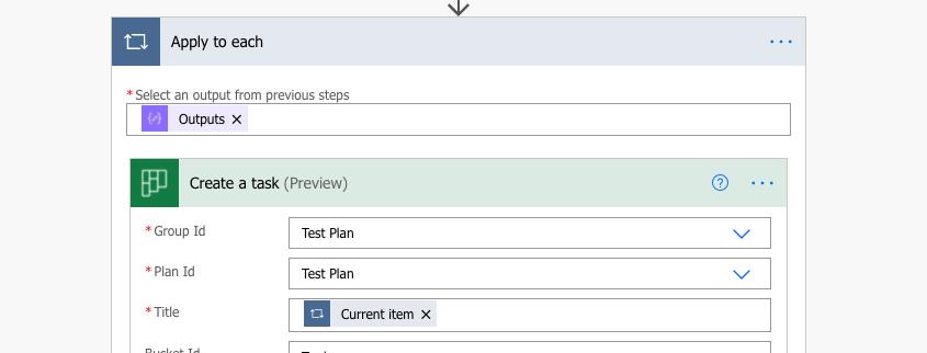 Create unique Planner tasks PA