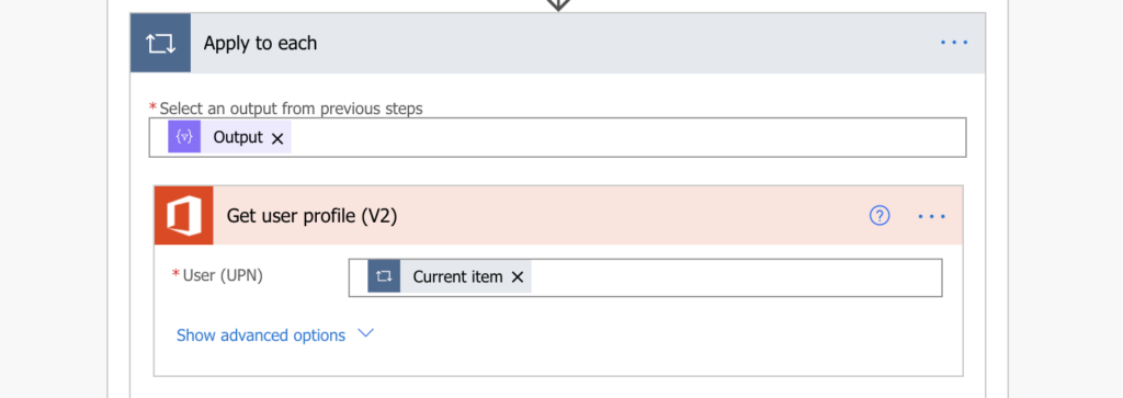 Power Automate Planner task assigned user